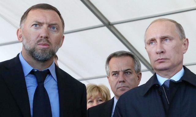 FT: российский олигарх Дерипаска отмывает деньги Путина