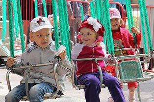1-го июня Ольховское отделение ЛДПР провело праздник для детей в Волгоградской области