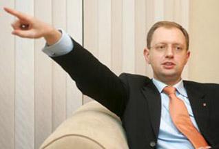 «Фронтовик» Яценюк объявил войну Донецку
