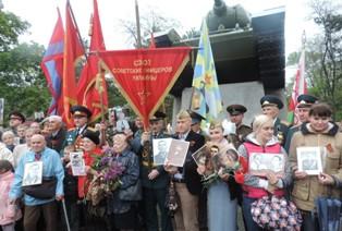 9 мая: возрождение ваты в Днепропетровске, пьяный Захарченко принимает пара ...