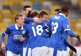 Лига Европы-2014/2015: Днепр уверенно побеждает Олимпиакос, Динамо уступает ...