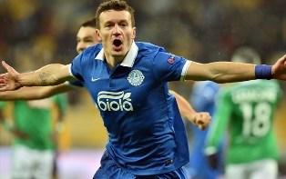 Лига Европы-2014/2015: Днепр побеждает Сент-Этьенн и выходит в 1/16 финала