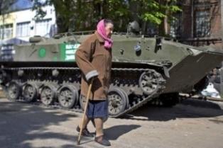 Бунт пенсионеров в ДНР