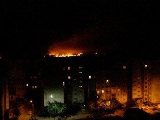 В Донецке взорвали склад боеприпасов ДНР. Видео