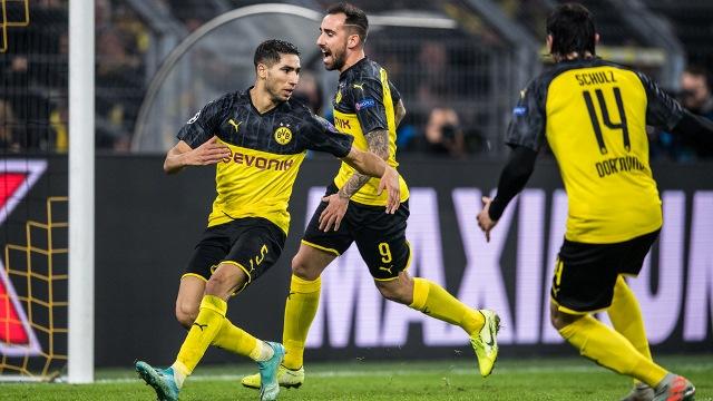 Лига Чемпионов: Дортмунд вырвал победу над Интером, фиаско Барселоны и Зенита