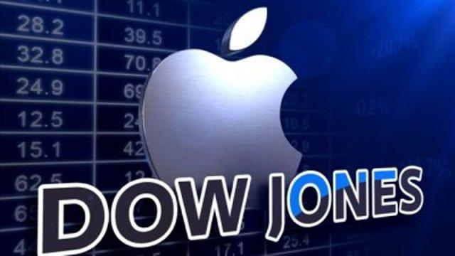 Индекс Dow Jones рухнул на фоне падения Apple