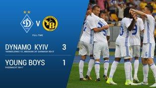 Лига Чемпионов: киевское Динамо побеждает Янг Бойз