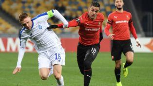 Лига Европы: Динамо обыграло Ренн, Лацио выбивает Марсель