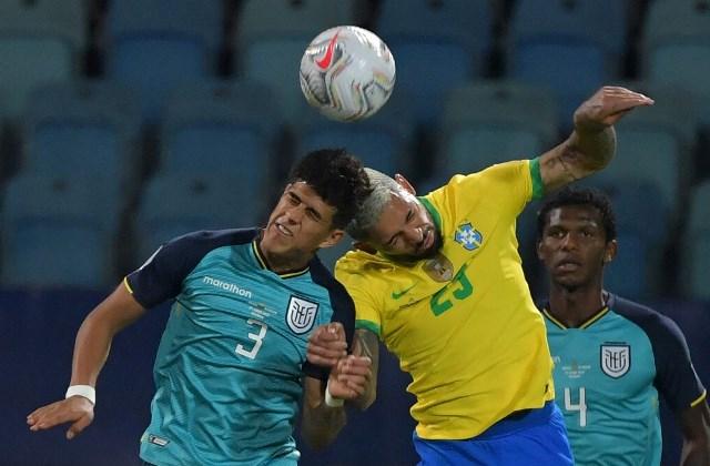 Copa America: Эквадор отстоял ничью с Бразилией, Перу обыграла Венесуэлу