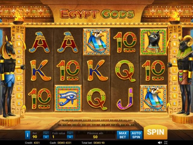 игровые автоматы сокровища египта