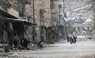 Россия и войска Асада нанесли авиаудар по контролируемому оппозицией сирийс ...