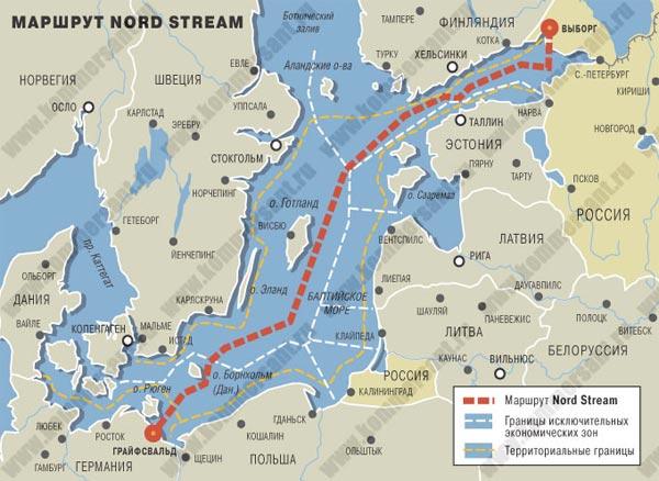 Швеция близка к одобрению Nord Stream