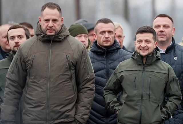 Разведка Великобритании идентифицировала Андрея Ермака как агента РФ