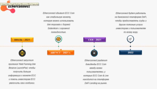 EtherConnect: особенности инвестирования в новый проект