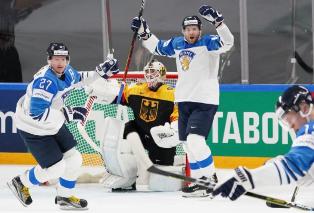 ЧМ по хоккею: Финляндия обыграла Германию, уверенные победы Чехии и России