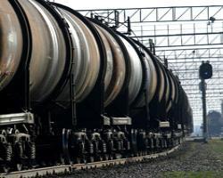 Поезд с фосфором отправлен в Казахстан