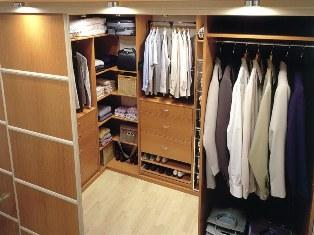 Для самого ценного: как обустроить гардеробную комнату