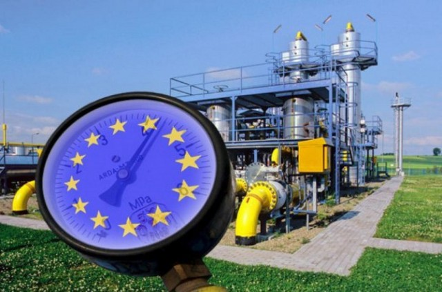 Цены на газ в ЕС приблизились к пиковой отметке
