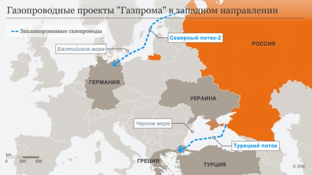 Северный поток-2: крах газовой стратегии Путина