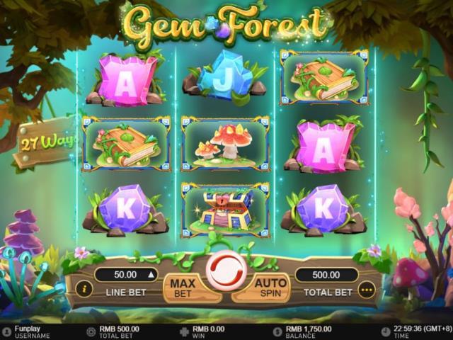Путешествие в сказочный лес: обзор игры Gem Forest