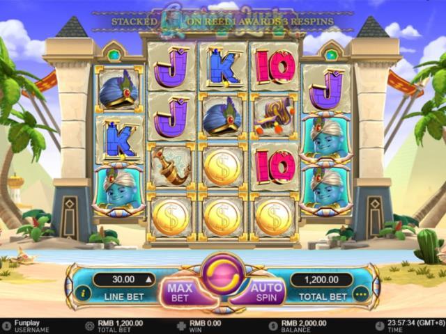 В поисках сокровищ Алладина: обзор игры Genie's Luck от Imperator Casino