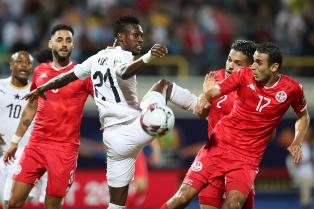 КАН-2019: Тунис выбивает Гану, определились все четвертьфиналисты турнира