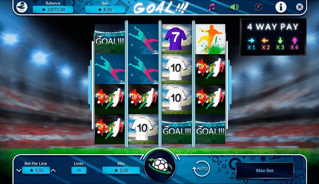 Испания - Италия: супер матч в игре Goal!!! от клуба Вулкан