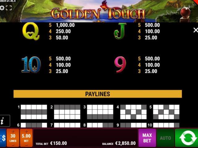 Магия и павлины: обзор игры Golden Touch