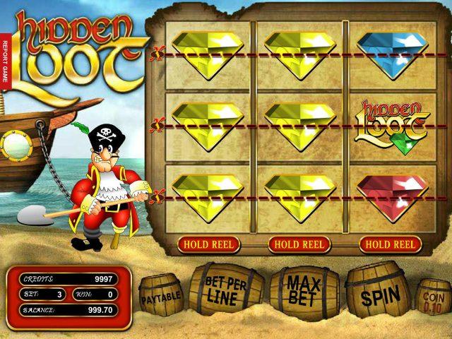 Hidden Loot: классический и забавный слот о пиратах от клуба Вулкан
