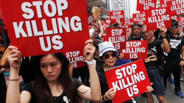 Правительство Гонконга выполнило одно из ключевых требований протестующих
