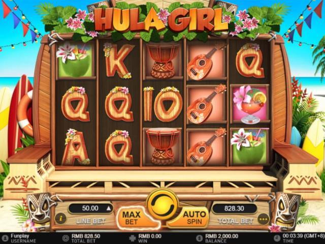 Пляжная вечеринка на Гавайях: обзор игры Hula Girl