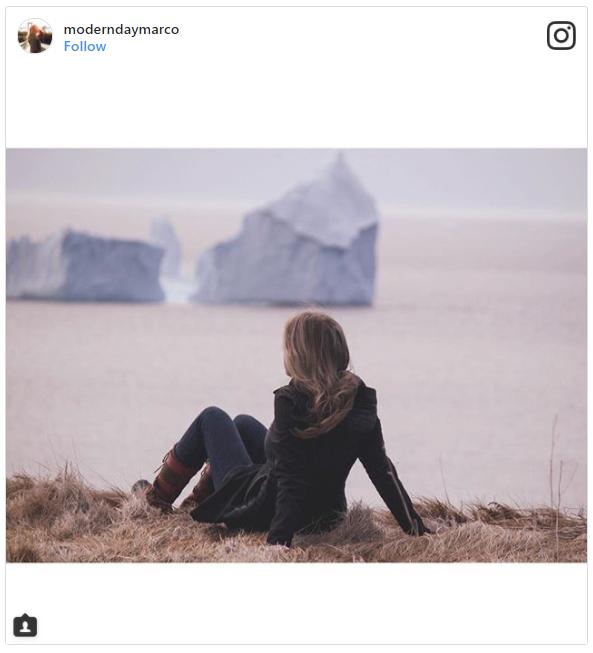 Айсберг в Канаде