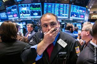 Падение рынка акций США стало рекордным за последние 2 года