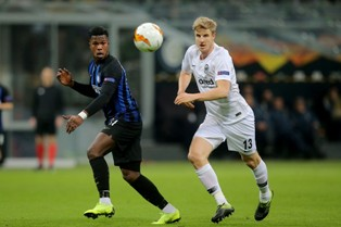 Лига Европы: вылет Интера и Севильи, Арсенал обыграл Ренн