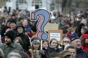 Исландия: Народ требует новую республику