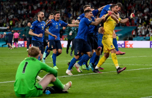 Евро-2020: Италия в серии пенальти побеждает Англию в финале