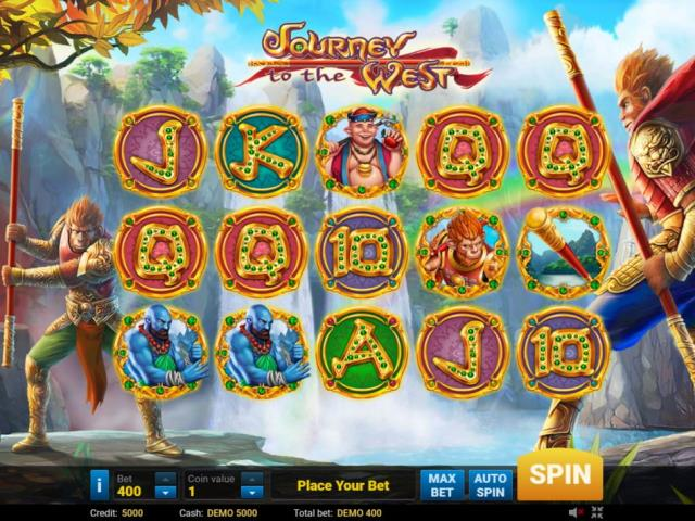 Играть игровые автоматы на деньги: обзор слота Journey to the West