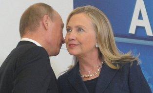 Путин и Клинтон