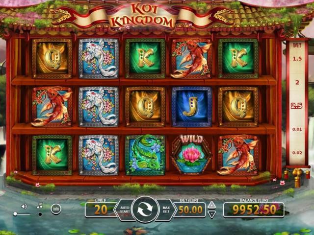 Официальный сайт клуба Vavada: обзор игры Koi Kingdom