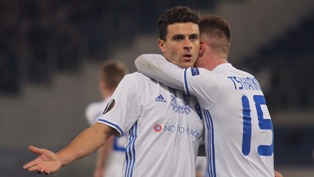 Лига Европы: Динамо добывает ничью на поле Лацио, Марсель переигрывает Атле ...