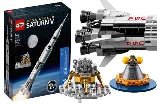 LEGO выпустила уникальный реалистичный набор Saturn V