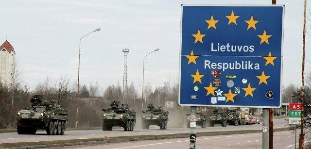 Граница Литвы