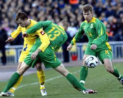 Украина - Литва - 1:0. Все матчи Евро-2008.