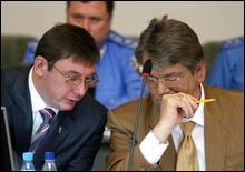 Луценко подал в отставку с поста советника Ющенко