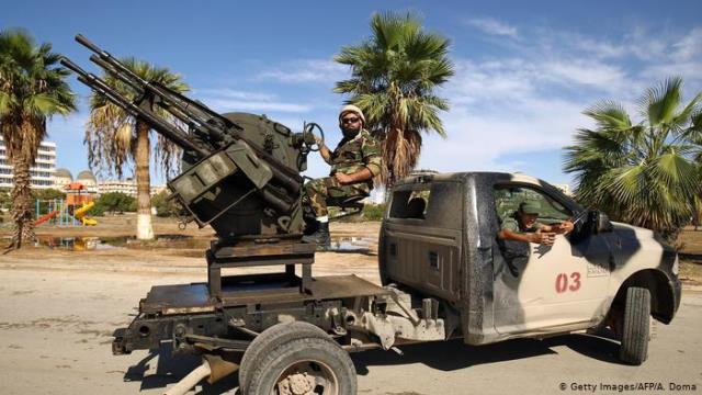 В Ливии нашли доказательства присутствия российской военной техники