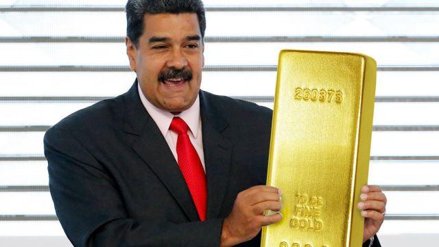 Bloomberg: Мадуро продолжает распродажу золота в обход санкций