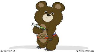 Россия допинг