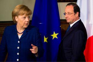 Меркель и Оланд пригрозили России новыми санкциями за Украину