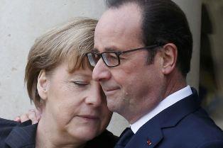 Le Figaro: Меркель и Оланд прилетели в Киев предложить федерализацию и внеб ...