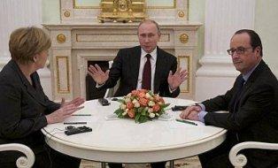 Война неизбежна? Первые комментарии Меркель и Оланда после встнечи с Путины ...